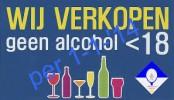 geen alcohol onder 18